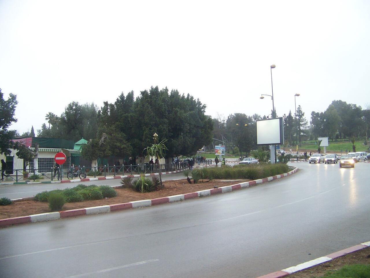 0042 - Streets of Modern Section of Meknes - Meknes Morocco.JPG