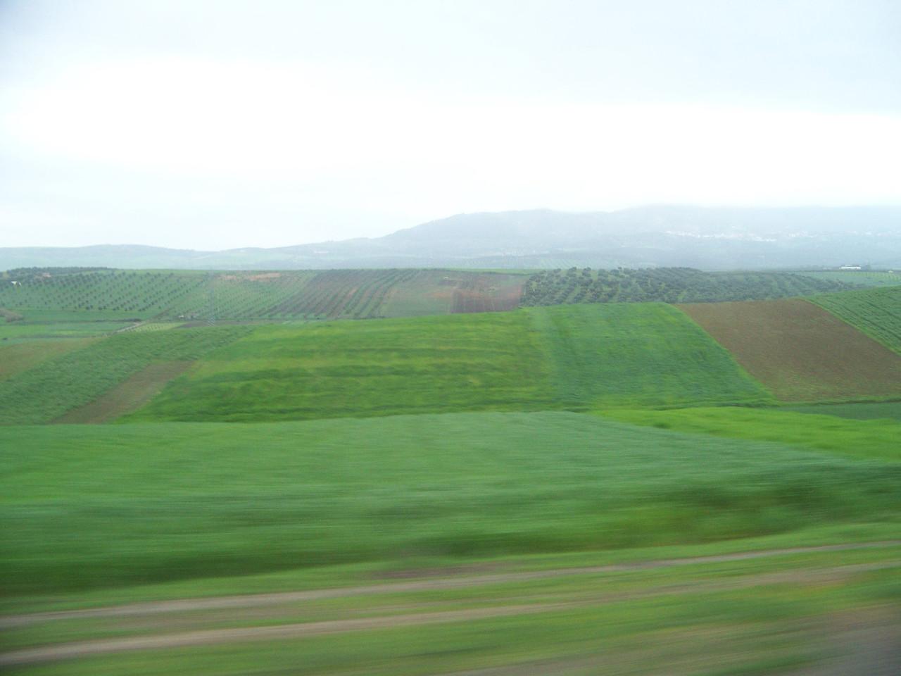 0044 - Countryside on Hwy N13 Between Meknes and Volubilis - Morocco.JPG
