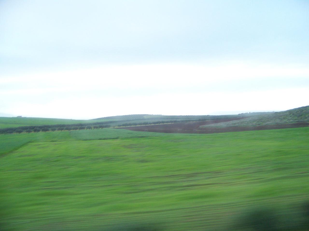 0046 - Countryside on Hwy N13 Between Meknes and Volubilis - Morocco.JPG