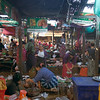 The daily market in Mandalay