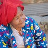 Woman at Pindaya market