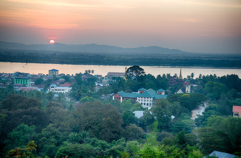 Sunset in Mawlamyaing