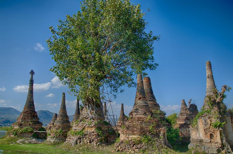 Stupas in Sagar