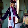 Nanette in traditional Shan dress