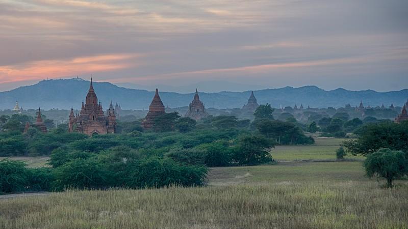 Dusk in Bagan