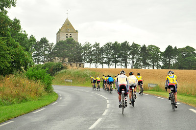 Cyclists ride through the battlefields of Normandy and visit historical sites during the 2014 Normandy Challenge.  As a 501(c)(3) organization, R2R helps injured active duty service members and veterans improve their health and wellness through individual and group cycling.