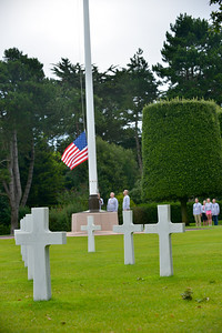 Participants visit the Normandy American Cemetery and Memorial during the 2014 Normandy Challenge.  As a 501(c)(3) organization, R2R helps injured active duty service members and veterans improve their health and wellness through individual and group cycling.