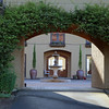 The Inn definitely has a Tuscan feel! This is the fabulous entrance courtyard.