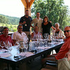 Here is our fun group along with Mark and Bryan! What a great spot and view to taste great Pinot Noir.