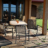 The Black Walnut Inn has patios all around the estate for great morning and evening relaxation.