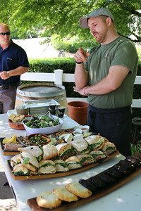 We enjoyed a wonderful spread for lunch from Dundee's Red Hills Market.