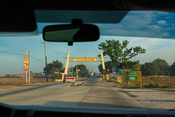 Entering Pangasinan province