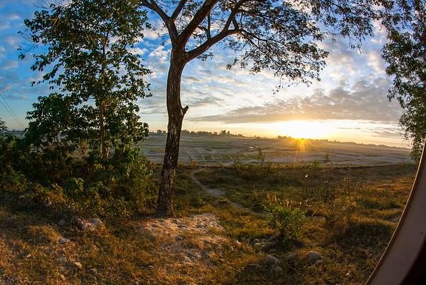 Sunrise in Tarlac
