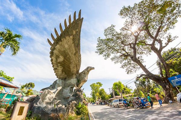 Eagle of the North, along Marcos/Aspiras Highway, Agoo