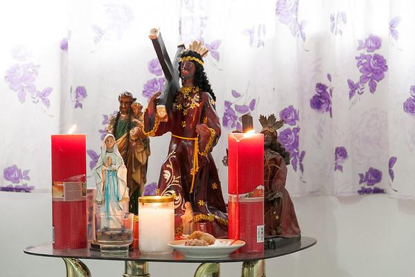 Black Nazarene altar