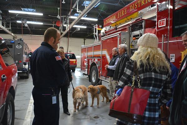 201-12-11 K-9 Addison Villiage Visit