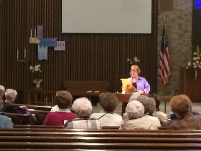 2014-05-01 Tim speaking at St. Michaels Richville, MI