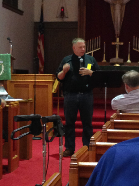 Pastor Terry Makelin, St. John Lutheran Church - Pilger, Nebraska
