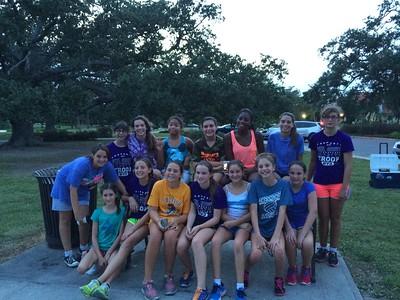 2014-08-20 7th Gr Girl Scouts - Wheel Fun