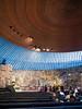 "014 Temppeliaukio Church - An underground Lutheran, known as ""The Church of the Rock"""