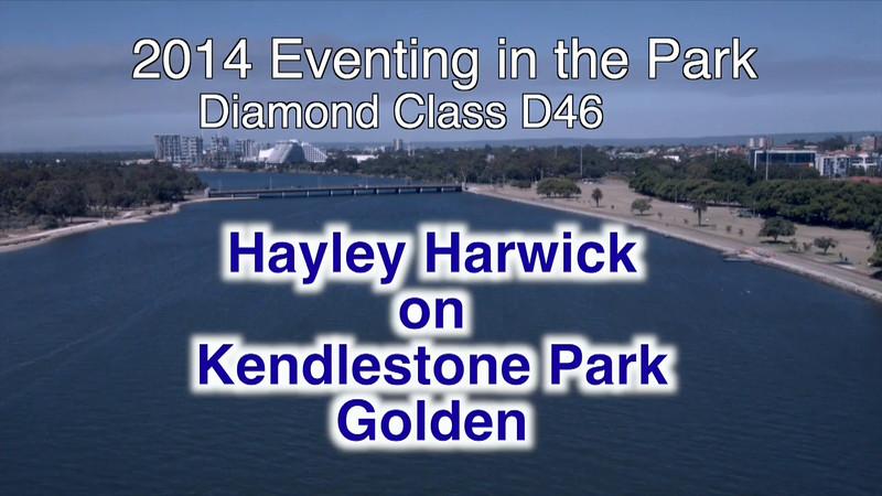 2014EITP D46 Hayley Hardwick on Kendlestone Park Golden