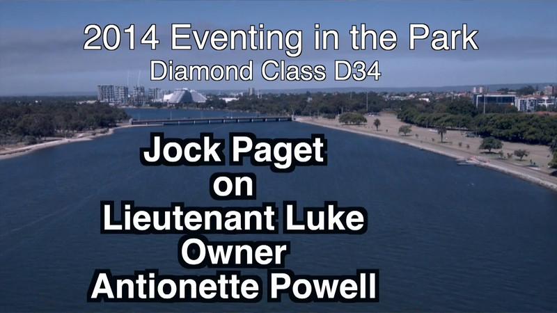 2014 EITP D34 Jock Paget Lieutenant Luke Owner Antionette Powell