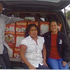 Aid distribution volunteers - Veracruz, Mexico - November 2013