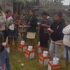 The Gospel of Jesus Christ was shared with storm victims - Veracruz, Mexico - November 2013