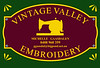 Vintage Valley Embroidery