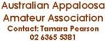 Australian Appaloosa Amateur Association
