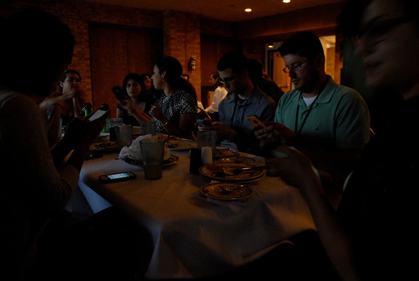 RESESS, SOARS, and NEON welcome dinner, Sunday, May 18, 2014. (Photo/Beth Bartel)