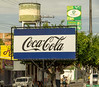 071 Rare Blue Coke Sign