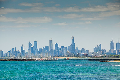 Melbourne CBD from Green Point