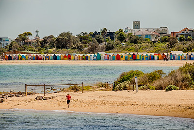 Bathing Boxes from Green Point