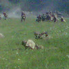 The photo is interesting but it is the smell of the gunpowder and the noise that makes the reenactment complete
