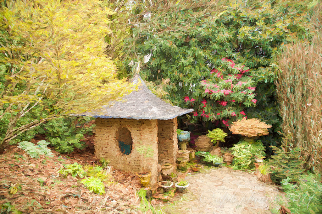 Brick Potting Shed