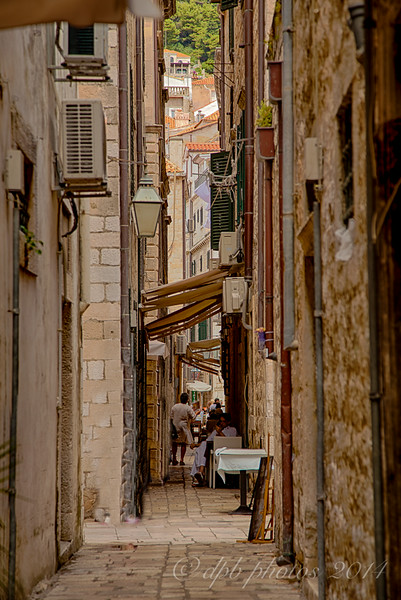 Narrow Streets of Old Dubrovnik