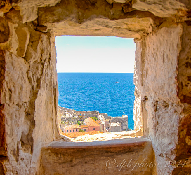Wall, Window & Ocean