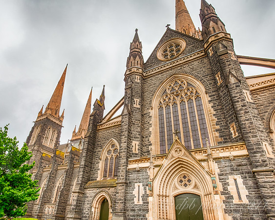 St. Patrick's Cathedral ~ Side Entrance