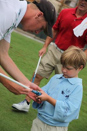 Els for Autism Golf Clinics 2014-09-08