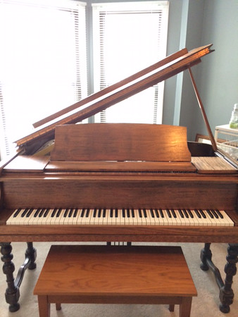 Free for the Asking - Baby Grand Piano