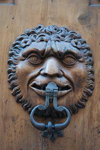 Grenoble door knocker