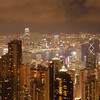 Hong Kong at Night ~ from Victoria Peak