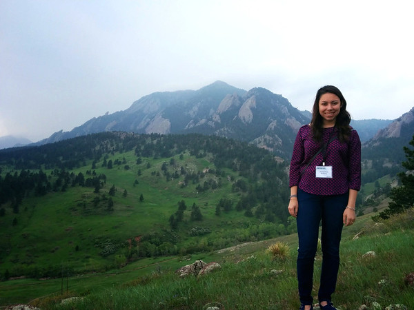 During the NCAR tour/lunch break