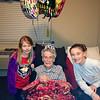 Taken on her 104th birthday.