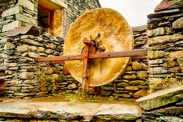 Old Mill Stone