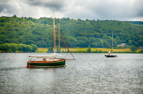 Boats on Coniston Water
