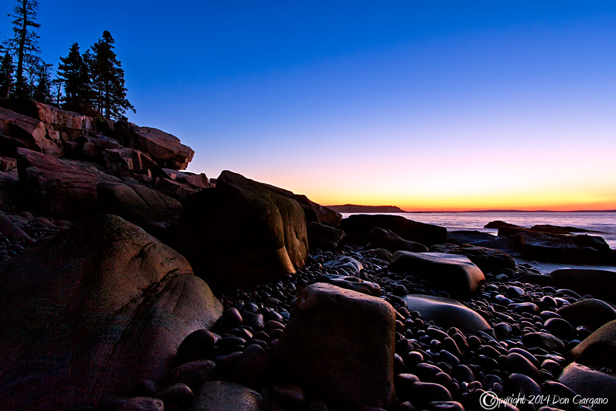 IMAGE: http://dongarganophotography.smugmug.com/2014-Photos/Maine/Acadia-National-Park/i-7NVMTjd/0/X2/Boulder%20Beach%20Sunrise-06-01-02cr%20-X2.jpg