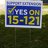 Extension District Campaign Sign