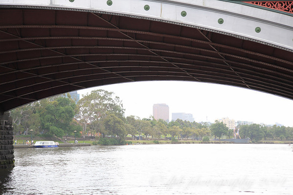 Under the Princes Bridge